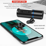 TWS Bluetooth 5.0 Earphone Wireless Earphones Hits Control Stereo Earbuds Sports Sweat Proof & Charging Case for iPhone Android