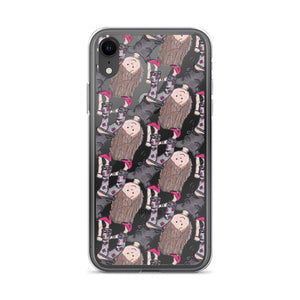 Silly Yaya Cartwheel iPhone Case