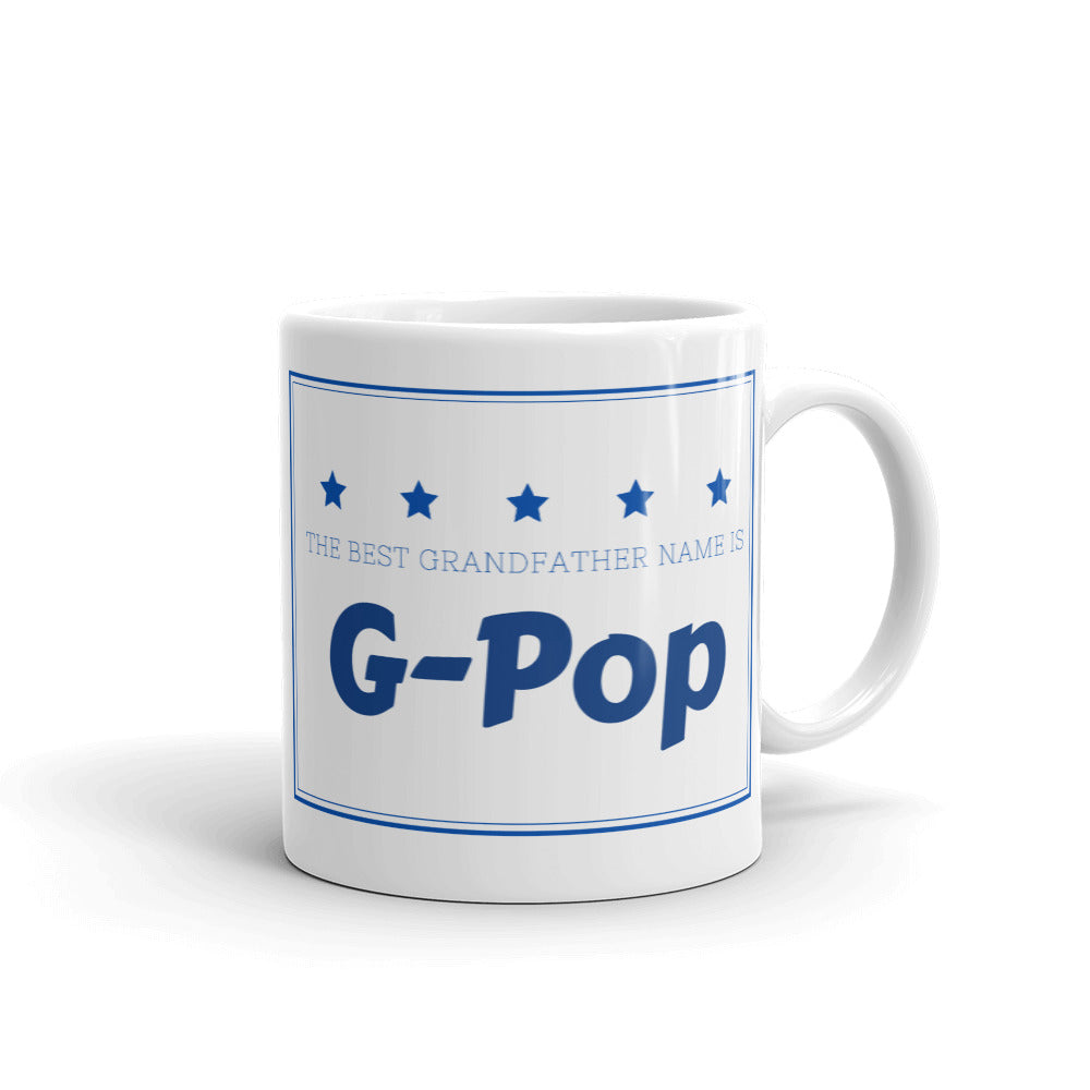 G-Pop The Best Grandfather Name Mug
