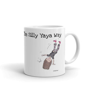 Silly Yaya Cartwheel Mug