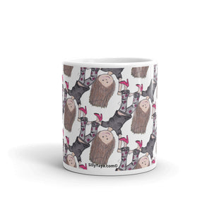 Silly Yaya All Over Print Mug