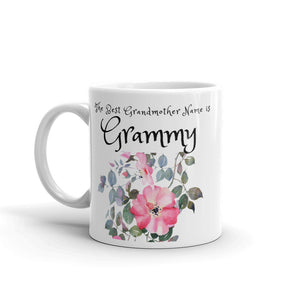 Grammy, The Best Grandmother Name Mug