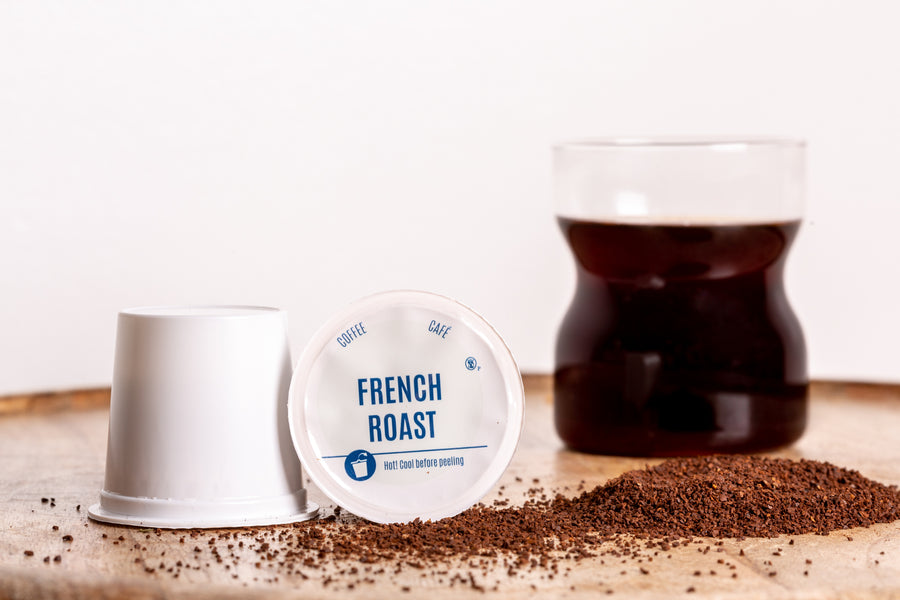 French Roast Coffee K-Cup® Compatible (Box of 108 capsules) - Kapsulyst