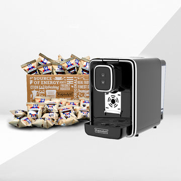 Black Friday Deal - Machine + Coffee/Tea Box - Kapsulyst