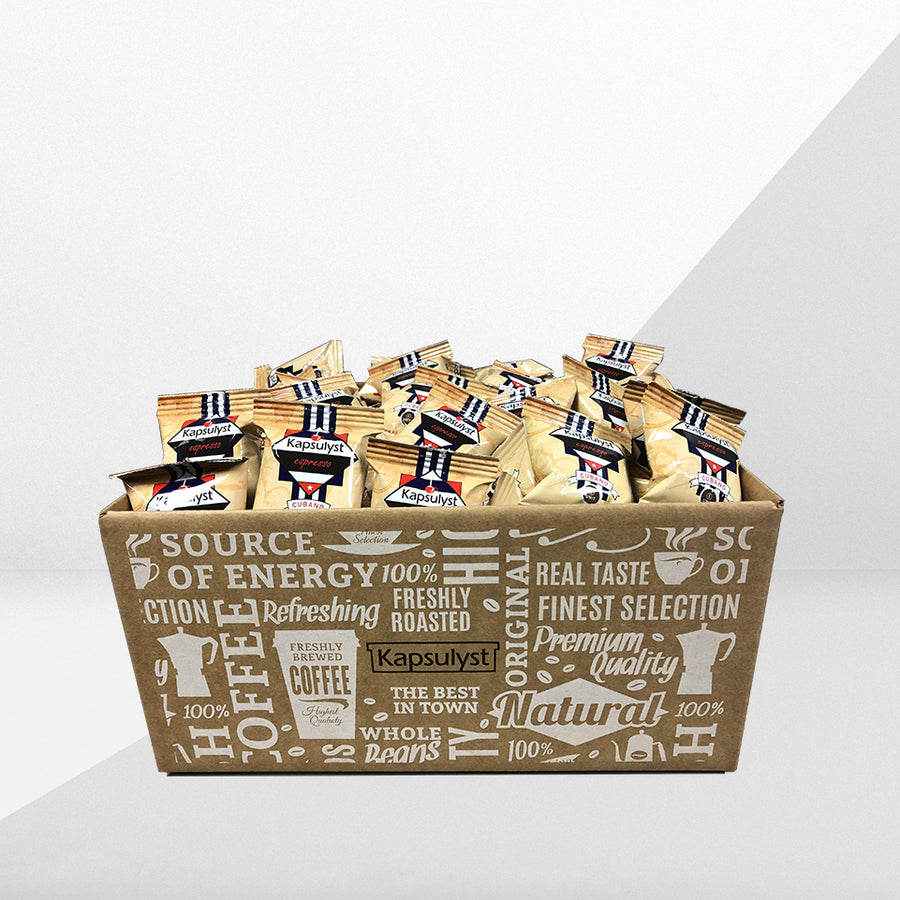 Cuban Style Coffee - EP Capsule (Box of 120 capsules) - Kapsulyst