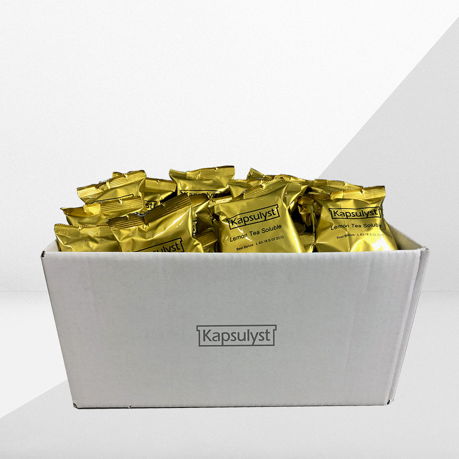 Sweet Lemon Tea (Soluble) - EP Capsule (Box of 50 capsules) - Kapsulyst