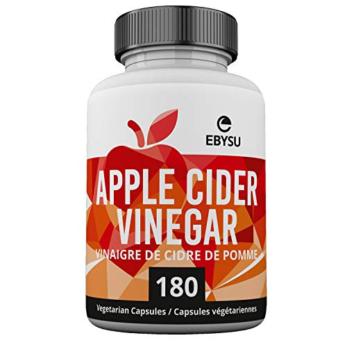 Apple Cider Vinegar Capsules - 180 Count - Extra Strength