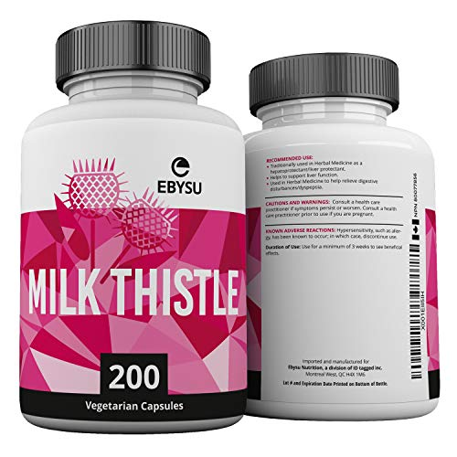 Milk Thistle Extract - 200 Capsules  - Max Strength !