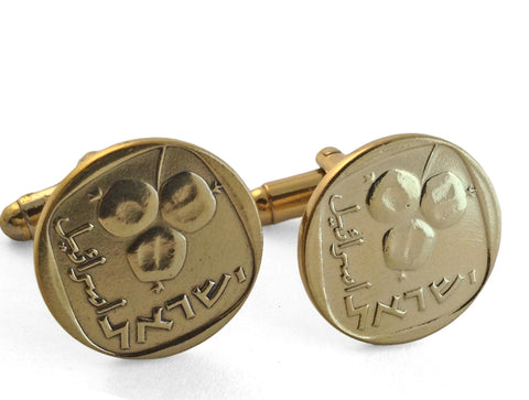 Irish Harp Cuff Links