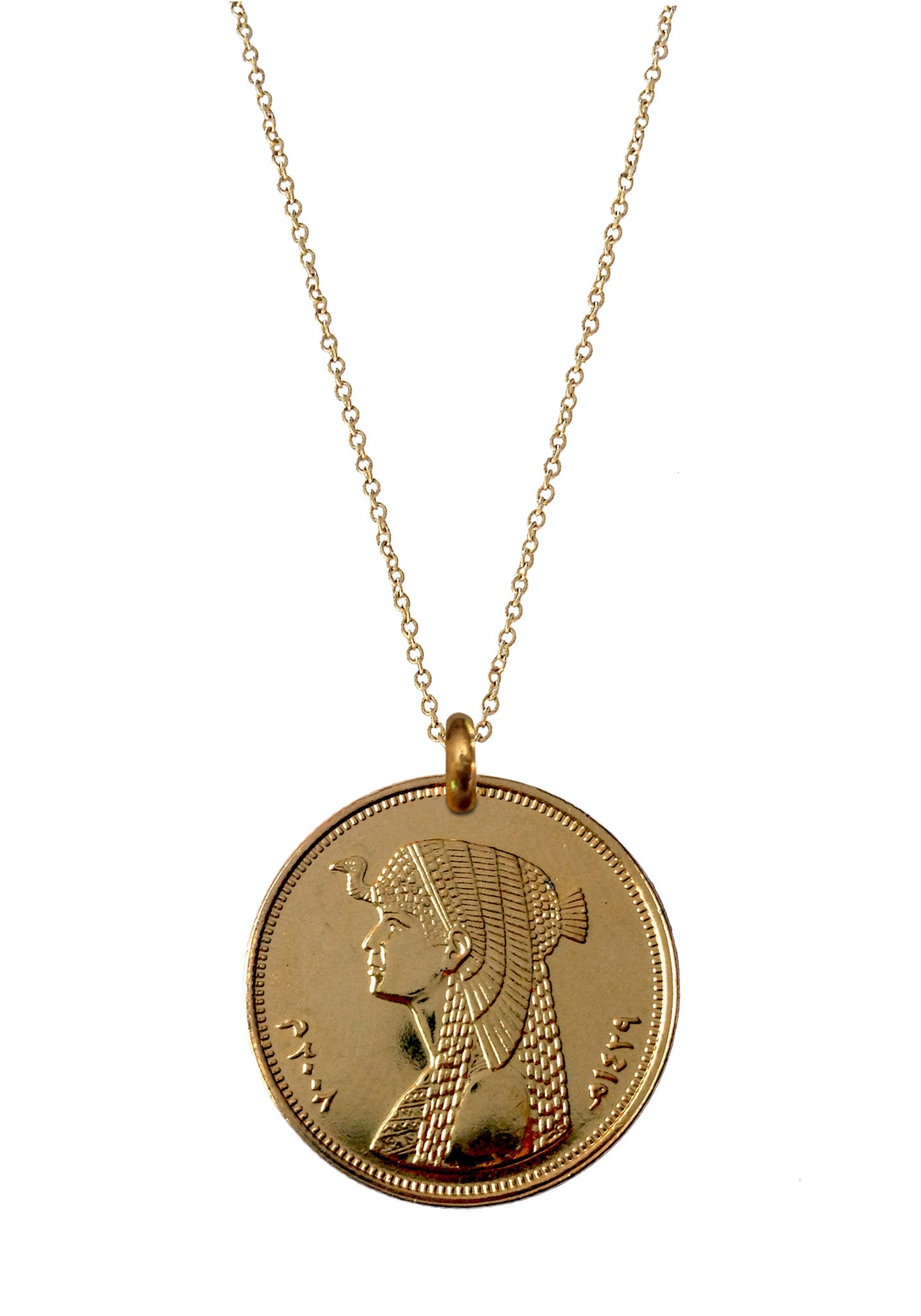 Egyptian Cleopatra (Gold Plated)