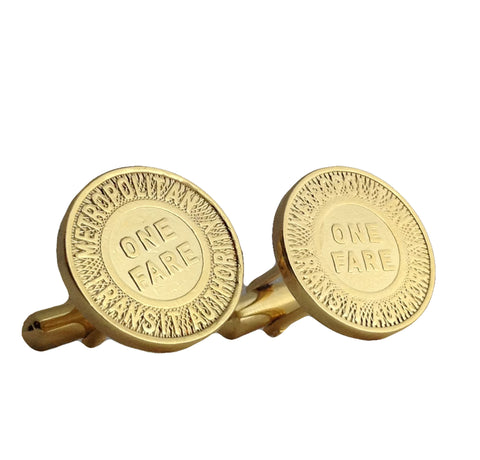 Los Angeles Transit Token Cuff Links