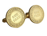 Boston Cuff Links (Gold Plated)