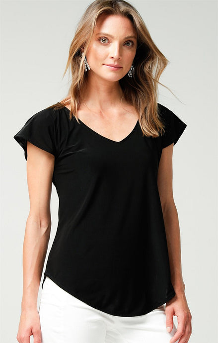 Sacha Drake Analia Jersey Top Black