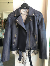Load image into Gallery viewer, Texas Johnny Leather Biker Jacket