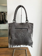 Load image into Gallery viewer, NU Grey Fringed Bag