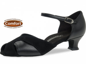 Diamant 011-011-070 Comfort Black Leather/Suede