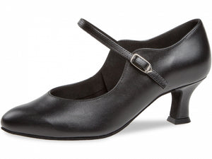 Diamant 050-068-034 Ladies Closed Toe Black Leather Shoe