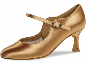 Diamant 050-085-087 Ladies Closed Toe Satin Shoe