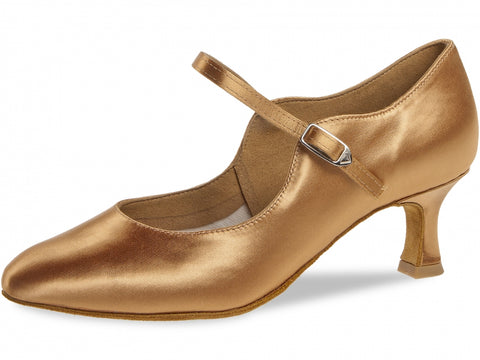 Diamant 050-106-087 Ladies Closed Toe Satin Shoe
