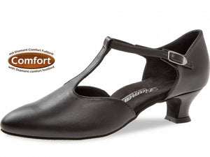Diamant 053-014-034 Black Leather Wide Fit