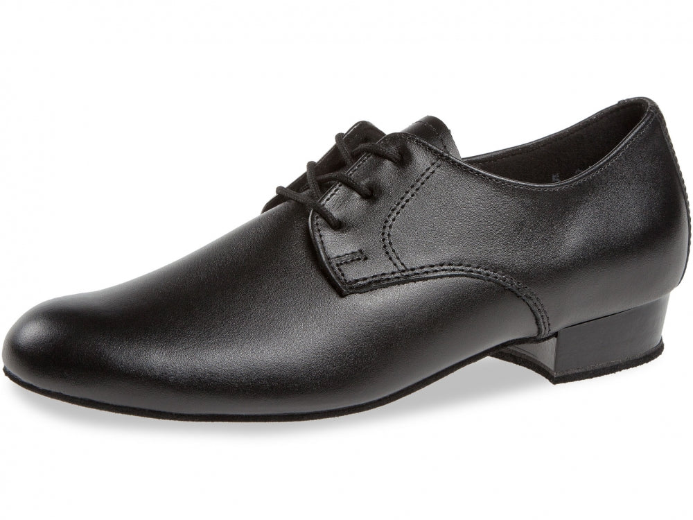Diamant 092-033-028 Black leather boys shoe
