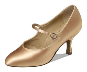 Supadance 1012 Ladies Closed Toe Satin Shoe