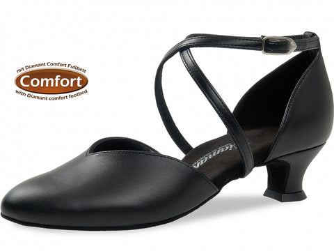 Diamant 107-013-034 Comfort Black Leather Medium Fit