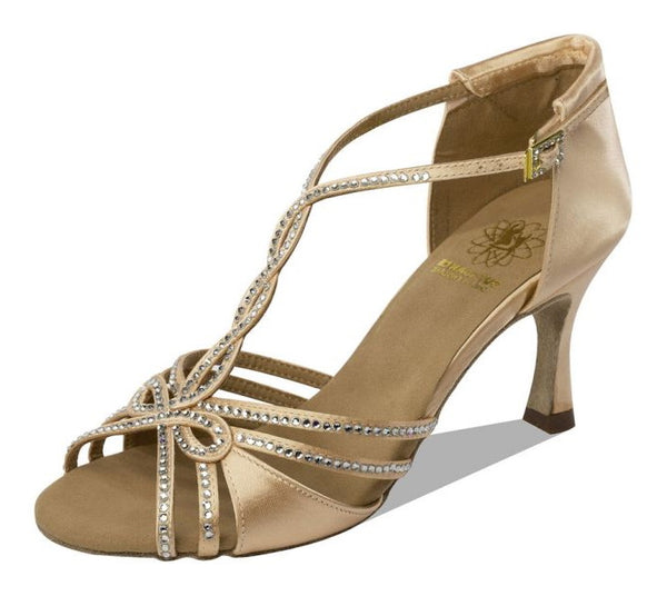 Supadance 1544 Open Toe Satin Sandal