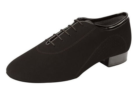 Supadance 5200 Black nubuk mens shoe