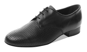Supadance 6000 Black leather mens shoe