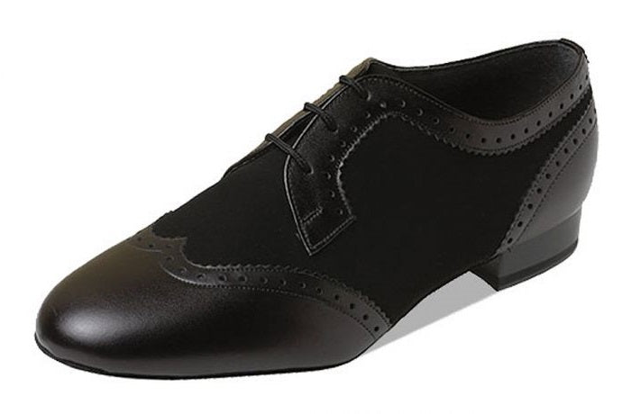 Supadance 6400 Black leather/nubuk mens shoe