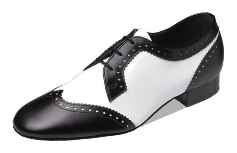 Supadance 6400 Black/white mens shoe