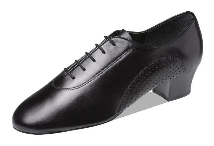 Supadance 8200 Black leather mens latin shoe