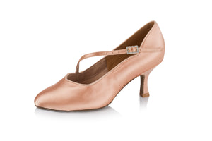 Freed of London Eternity Ladies Closed Toe Satin Shoe