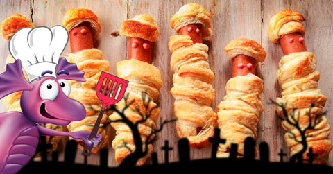 recipe halloween sausages