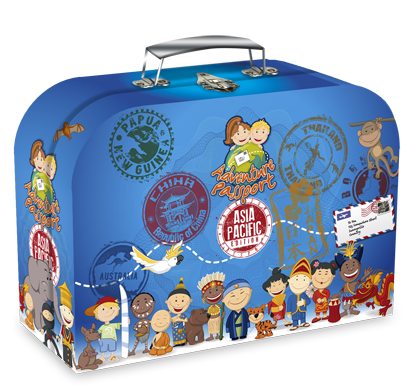 Picture of Asia Pacific Adventure Passport Geo Discovery Activity kit
