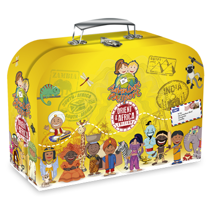 Picture of The Orient and Africa Adventure Passport Geo Discovery Activity Kit