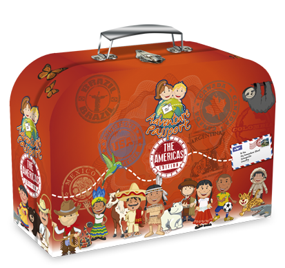 Picture of The Americas AdventurePassport Geo Discovery Activity Kit
