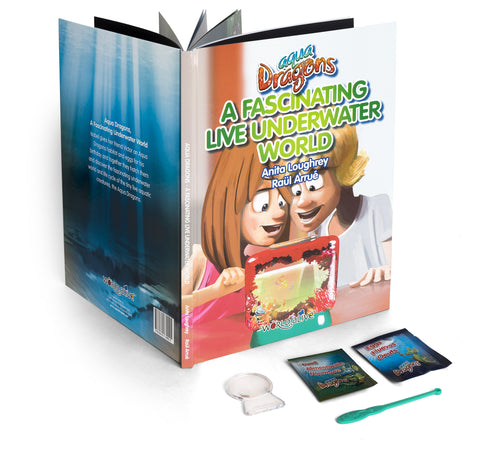 Picture of Book: A Fascinating Underwater World with Special Edition Aqua Dragons kit
