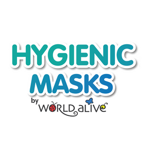 Load image into Gallery viewer, Wholesale Starter Pack - 24 units - Hygienic Masks by World Alive