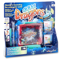 Aqua Dragons Underwater World in tray