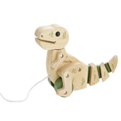 T-Rex Pull toy with moving legs