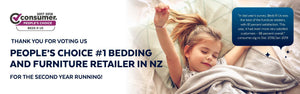 BedsRuS – Winner of consumer NZ's People's Choice award – Furniture & Bedding for a second consecutive year.-BedsRus Blog Banner