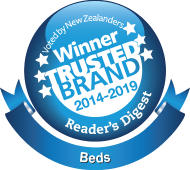 Winner Trusted Brand 2014-2018 BedsRus