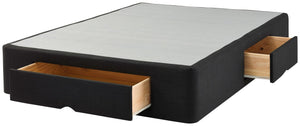 Sleepyhead Black 2 Drawer Base King Single