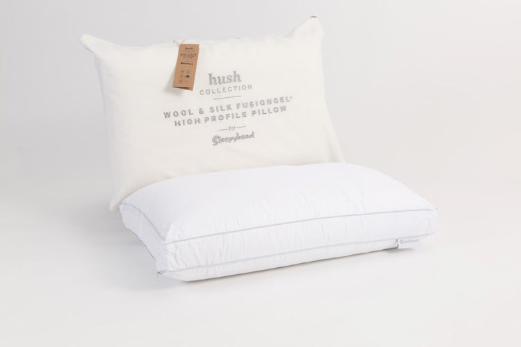 Sleepyhead Hush Wool Silk FusionGel High Pillow