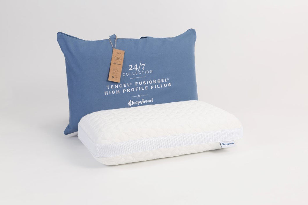 Sleepyhead 24/7 Tencel® FusionGel High Profile Pillow