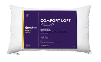 Sleepyhead Simple Care Comfort Loft Pillow