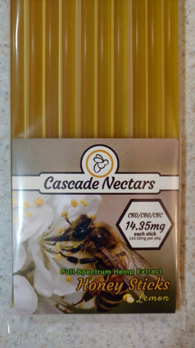 Cascade Nectars Honey Sticks
