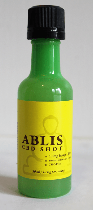 Ablis™ Shots - All natural CBD infused lightly carbonated beverages